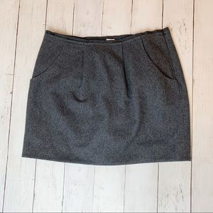 Jcrew wool skirt // women